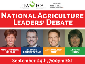 CFA Ag Debate - September 2019